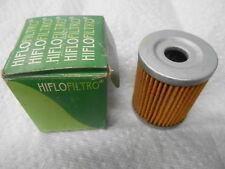 NOS HifloFiltro Oil Filter Kawasaki KLX125 Suzuki DR125 Yamaha CP250 HF-132