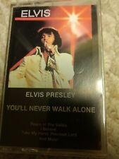 Elvis Presley You'll Never Walk Alone, Gospel, Cassette Tape, 1985 Very Good