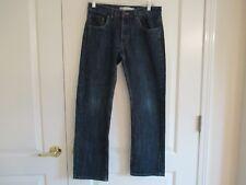 Levis 505 Reg. sz 16 Reg. 28x28 straight leg 100% cotton blue jeans Ex.