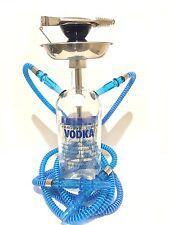 Absolut® Hookah Shisha Narghile Chicha 1.75L Double Hose Glass Bottle Hand Made