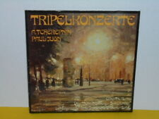 LP - GÖBEL TRIO BERLIN - TRIPELKONZERT - PAUL JUON - A. TCHEREPNIN