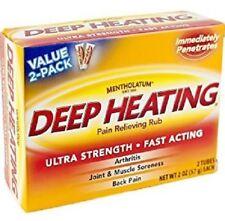 Mentholatum Deep Heating Rub Cream, 2 oz. 310742013351YN