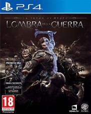 La Terra Di Mezzo L'Ombra Della Guerra D1 Day One Edition PS4 Playstation 4
