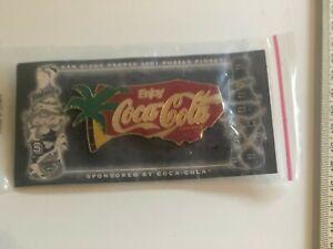 San Diego Padres 2001 Puzzle Pin Set NIP Sponsored by Coca-Cola baseball
