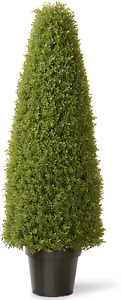 National Tree Company Artificial Shrub Includes Pot Base Boxwood 48-Inches Green