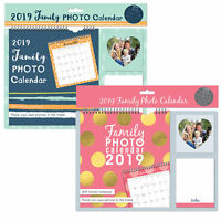 2019 Calendar & Notepad Insert Personal Family Picture Photo Home Organiser 3361