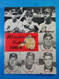 1964 MILWAUKEE BRAVES YEARBOOK NICE ORIGINAL