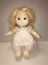 Vintage Mattel My Child Doll Blonde Brown Eyes 1985