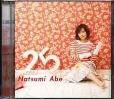 Natsumi Abe - 25 - Vingt Cinq - Japan CD+DVD - J-POP