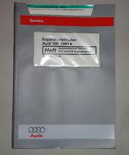 Werkstatthandbuch Audi A6 C4 Automatik Getriebe 01F / 01K Diagnose ab 1991