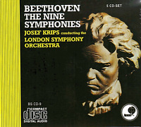 FACTORY SEALED BEETHOVEN THE NINE SYMPHONIES 5 CD Boxed Set (LONDON SYMPHONY)
