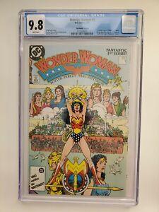 Wonder Woman #1 (1987) No Month Variant Cgc 9.8 1984 Alt Cover 1st App Modern WW