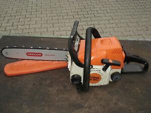Motorsäge Kettensäge STIHL MS 180 C einsatzbereiter Zustand, 2 PS, 35 cm Schwert