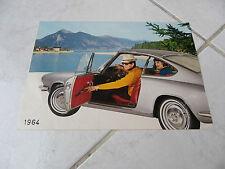 Glas 1300 GT 1964 - catalogue brochure dépliant prospekt commercial