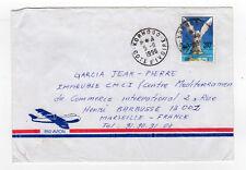CÔTE D'IVOIRE 1 timbre sur lettre tampon 1996  Korhogo  /L888