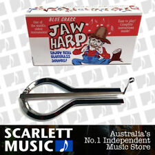 Bluegrass Jaw Mouth Harp Nickel Plated Steel *New* Made USA Boxed