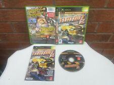 Flatout 2 Xbox Original Autorennen Spiel komplett mit Handbuch