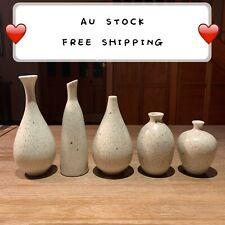 Ceramic Handmade Flowerpot Vase Home Office Sculpture Art Gift Present VA7