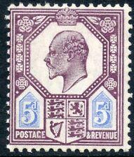 1906 DLR 5d slate purple & ultramarine unused o.g. Spec no M29(2).