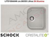 Avena Schock Lithos N200 Lavello Quarzo Cristalite Plus Granite 86x50x22 cm