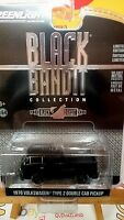 Greenlight Black Bandit Limited Edition 1976 Volkswagen Type 2 Double Cab (N5)