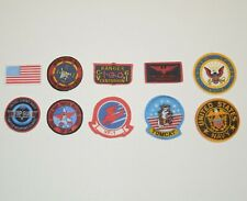 1/6 Scale Topgun Fabric Patches for Maverick Pete Mitchell Navy Flight Suit