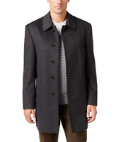 RRP - $395 RALPH LAUREN Men's Luxury Single Breasted Jake Wool-Blend Topcoat, Si