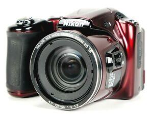 Nikon COOLPIX L830 16MP Digital Camera Zoom 34x Optical, 68x Digital