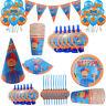 Blippi Kids Boys Girls Birthday Party Supplies Tableware Decorations Balloons UK
