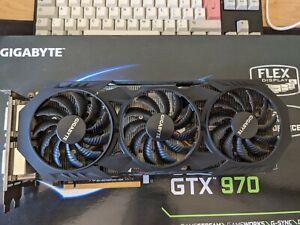 Gigabyte NVIDIA GeForce GTX970 4GB GDDR5 RAM Graphics Card - WINDFORCE