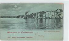 TURKEY 1899 VIEW OF YENI KEUY HAUT BOSPHORE CONSTANTINOPLE UNUSED PPC