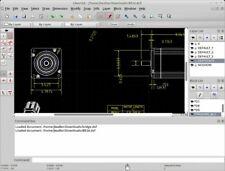 LibreCAD (Professional 2D CAD Software) Windows/Mac CD