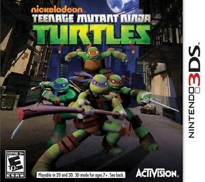 Teenage Mutant Ninja Turtles Nintendo For 3DS 1E