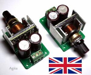 DC 5V-40V 3A DC Motor Speed Control PWM Controller 12V 24V 36V 130W - UK
