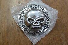 New Harley Belt Buckle Silver NOS SKULL
