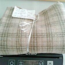 New listing N#4 100% Wool Rebecca Erb 1 Yd Tan/Olive Stripe 13.5 Oz Rug Hooking or Applique