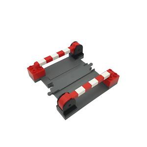 Lego® Duplo Eisenbahn TRAIN Schienen Gerade Gebogene Weiche Gleis BLAUGRAU ZUG G