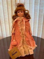 Seymour Mann's Faith Porcelain Doll Stand Included