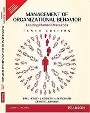 Management of Organizational Behavior by Paul H. Hersey, Dewey E. Johnson and...