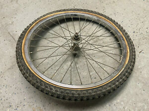 GT 20 inch BMX front wheel with tire