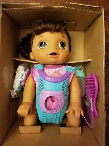 Baby Alive Baby Go Bye Bye - Brunette - Hasbro