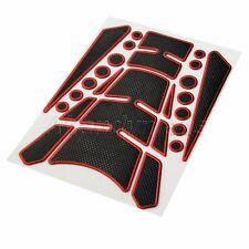 UK Motorcycle ATV Fuel Gas Tank Sticker Dot Fish Bone Decal Pad Cover Universal
