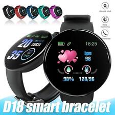 Montre connectee Sport D18 Smartwatch Bracelet intelligent frequence sante