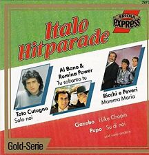 Italo Hitparade (BMG/AE Gazebo ('Telephone Mama'), Al Bano & Romina Power.. [CD]