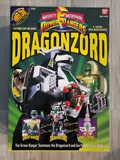 MIGHTY MORPHIN POWER RANGERS GREEN DRAGONZORD NIB BANDAI 1993