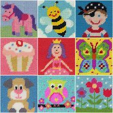 Anchor 1st Needlepoint Tapestry Kit - Ideals Beginners / Kids / Children's Craft