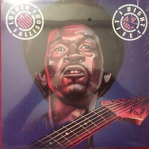 "LUTHER ALLISON  ""NIGHT LIFE""  LP  1976  MOTOWN  G6-974S1  BLUES  33RPM  USA   M-"