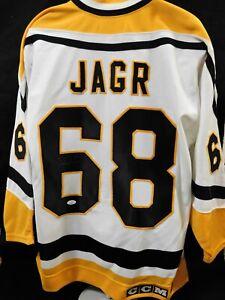 Jaromir Jagr Pittsburgh Penguins Signed Authentic CCM Jersey JSA Authenticated