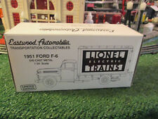 Lionel 1951 Ford F-6 Die Cast Truck By Eastwood 1/34 Scale mib new 1992