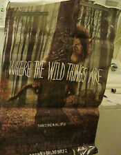 WHERE THE WILD THINGS ARE POSTER VIDEO STORE 2010 ORIGINAL VINTAGE DISPLAY